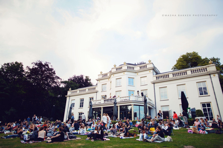 Pathé Outdoor Cinema ism Stadsvilla Sonsbeek